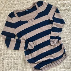 Old Navy maternity striped sweater